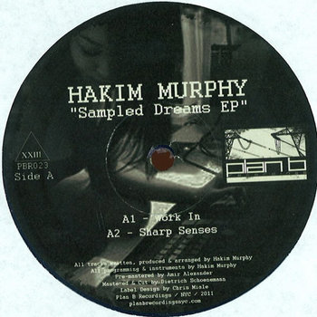 """Sampled Dreams EP"" - Hakim Murphy (Vinyl Only) cover art"