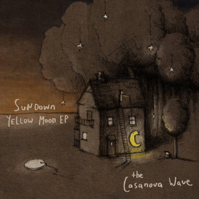 Sundown Yellow Moon EP cover art