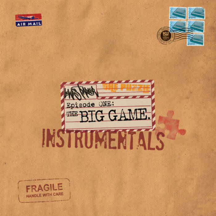 The Puzzle: Episode 1, The Big Game, Instrumentals cover art
