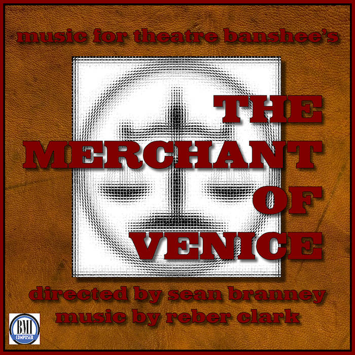 Theatre Banshee's The Merchant of Venice cover art