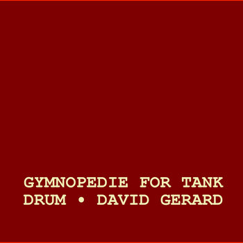 Gymnopedie For Tank Drum cover art