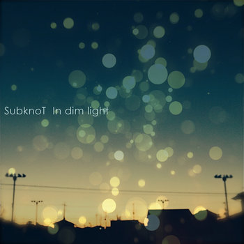 In dim light cover art