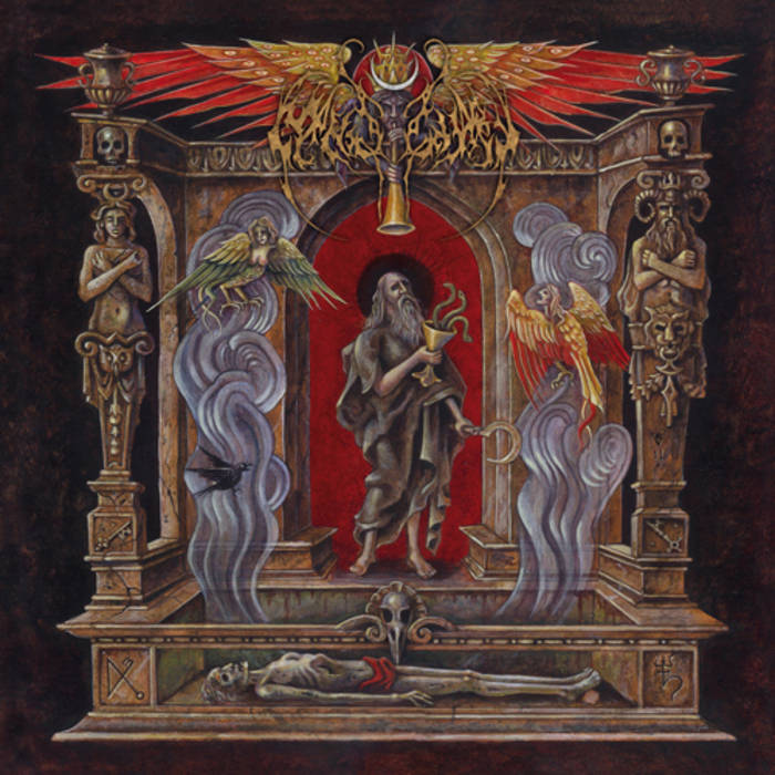 Hierophany of the Open Grave cover art