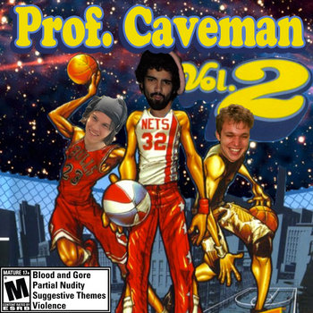 Prof. Caveman Vol.2 cover art