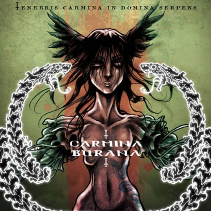 Tenebris Carmina In Domina Serpens cover art
