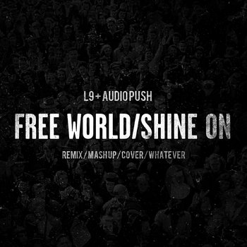 FREE WORLD/SHINE ON cover art