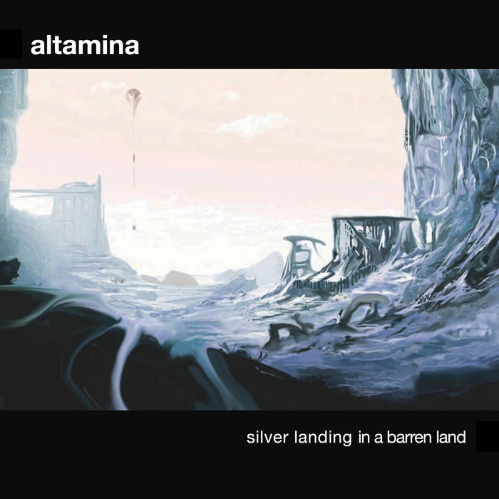 Silver Landing in a Barren Land cover art