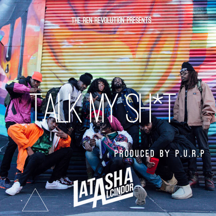 Talk My Sh*t  (prod. P.U.R.P.) cover art