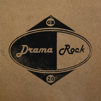 """DRAMA ROCK"" cover art"