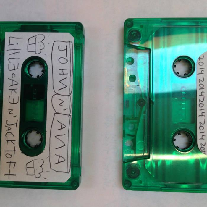 little cake N jack topht demo tape cover art