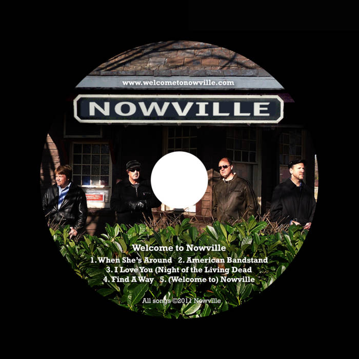 Welcome To Nowville (EP) cover art