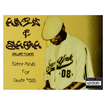 "Amin & Saga Presents ""Volume 3: Silent Minds for Quiet Halls"" cover art"