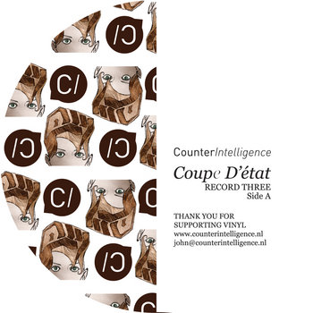 CI015 - Alpha Omega / Bop & Despot / Martsman vs Titanium / Macc - Coupe d'Etat LP (Part Three of Four) cover art