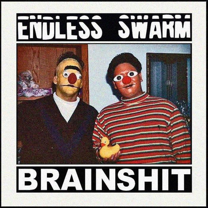 Endless Swarm/Brainshit - Split cover art
