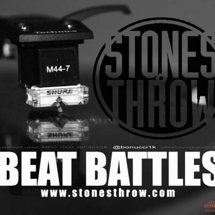 Stones Throw Beat Battles cover art