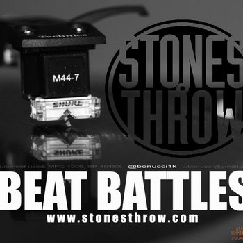 Stones Throw Beat Battles cover art