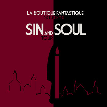 Sin and Soul tour cover art