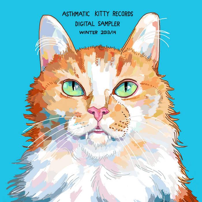 Asthmatic Kitty Digital Sampler, Winter 2014 cover art