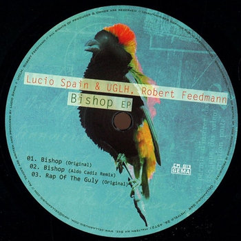 [CM013] Lucio Spain & Uglh, Robert Feedmann - Bishop EP cover art