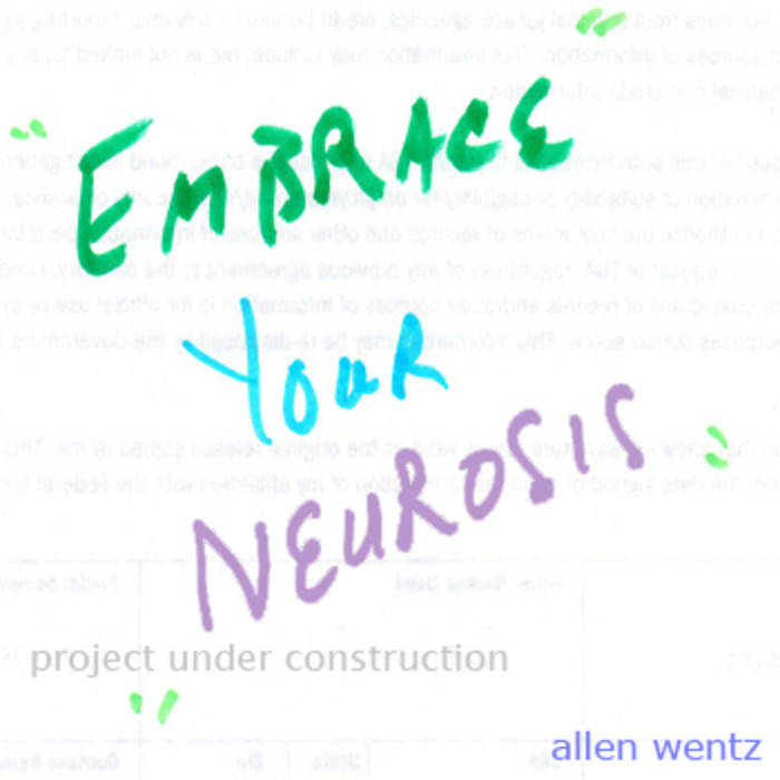 Embrace Your Neurosis cover art