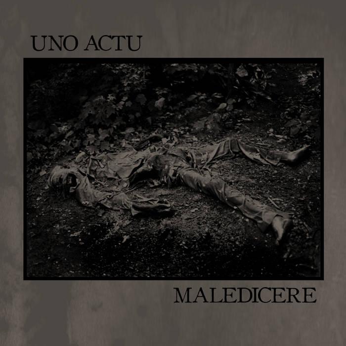 "Maledicere/Uno Actu split 7"" cover art"