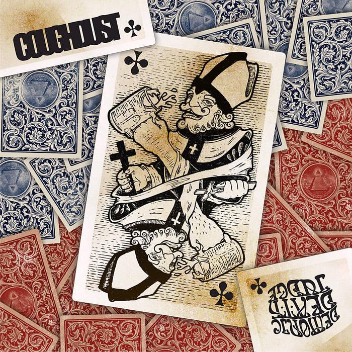 Demonic Death Judge / Coughdust -split cover art