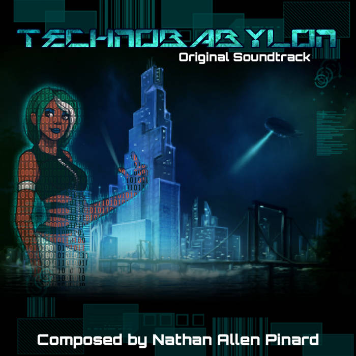 Technobabylon Original Soundtrack cover art