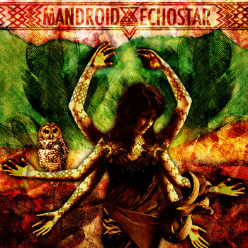 Mandroid Echostar EP cover art