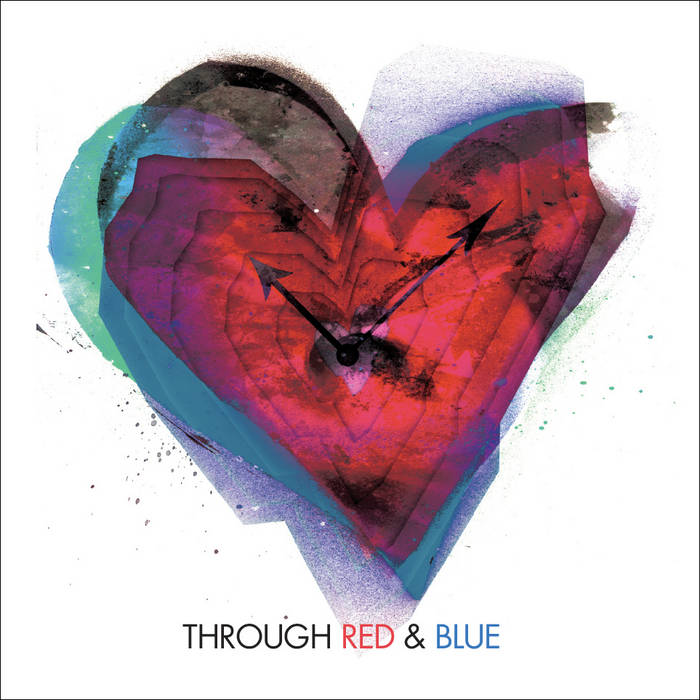 Through Red & Blue cover art