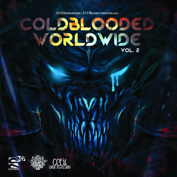 Cold blooded worldwide vol.2 cover art