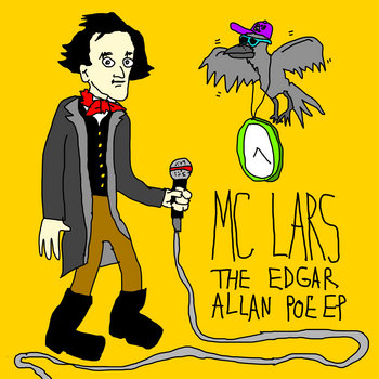 The Edgar Allan Poe EP cover art