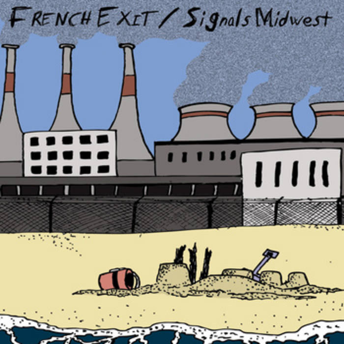 "French Exit || Signals Midwest : split 7"" cover art"