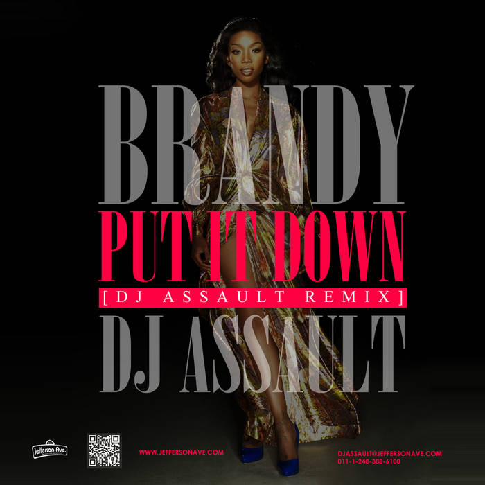 Brandy - Put It Down (DJ Assault Remix) cover art
