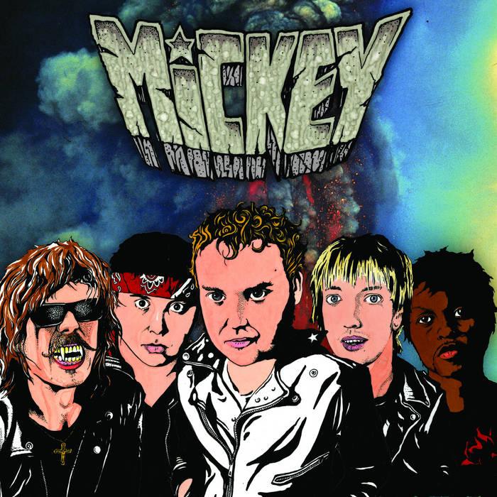 Rock N Roll Dreamer (HoZac Records, 2011) cover art