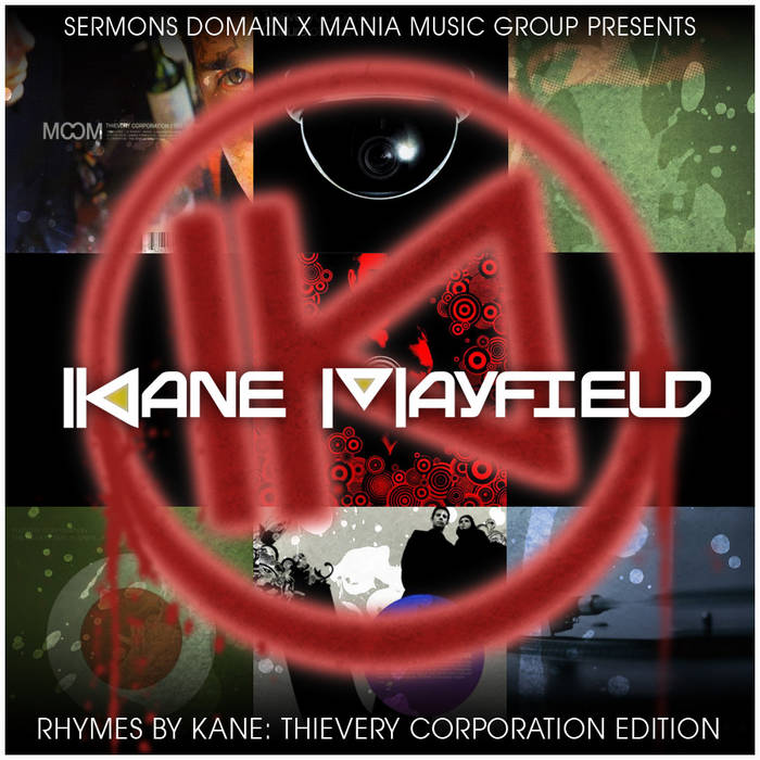 Rhymes By Kane Thievery Corporation Edition cover art