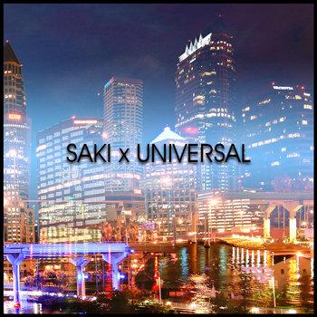 Saki x Universal cover art