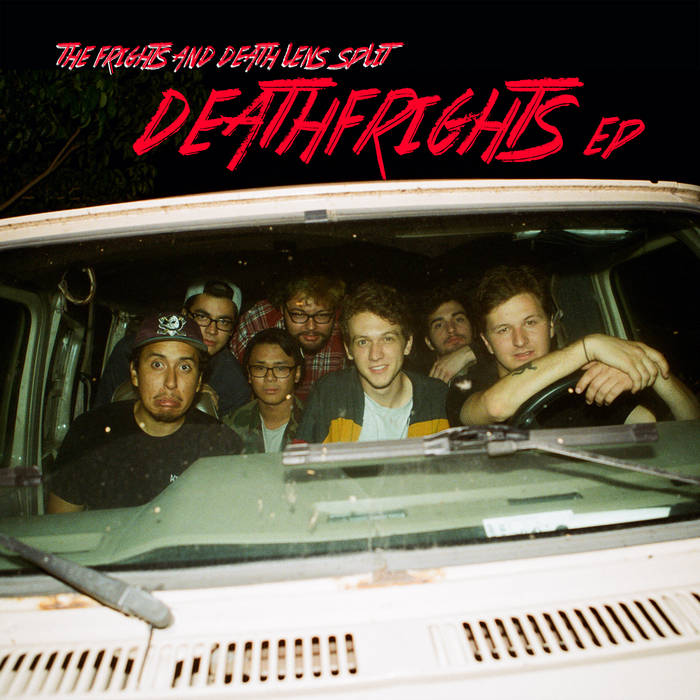 DeathFrights Split EP cover art