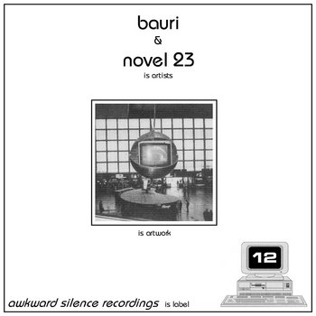 Bauri / Novel 23 - split EP cover art