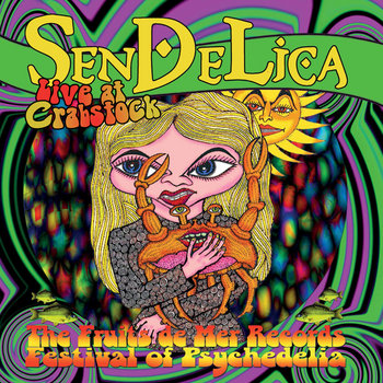 SENDELICA LIVE AT CRABSTOCK WALES 2014 cover art