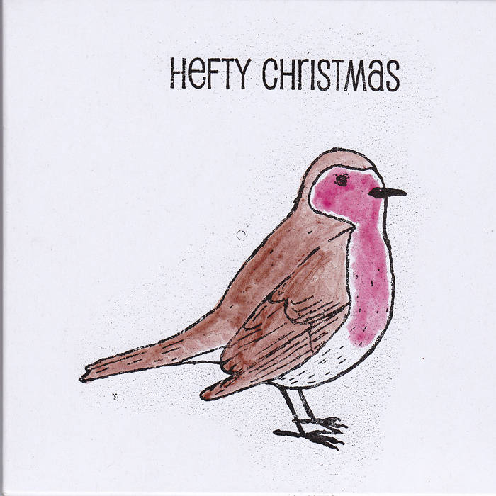 Hefty Christmas EP cover art