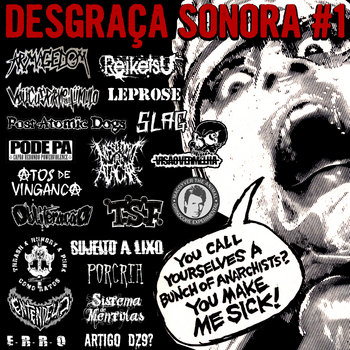 Coletânea Desgraça Sonora #1 cover art