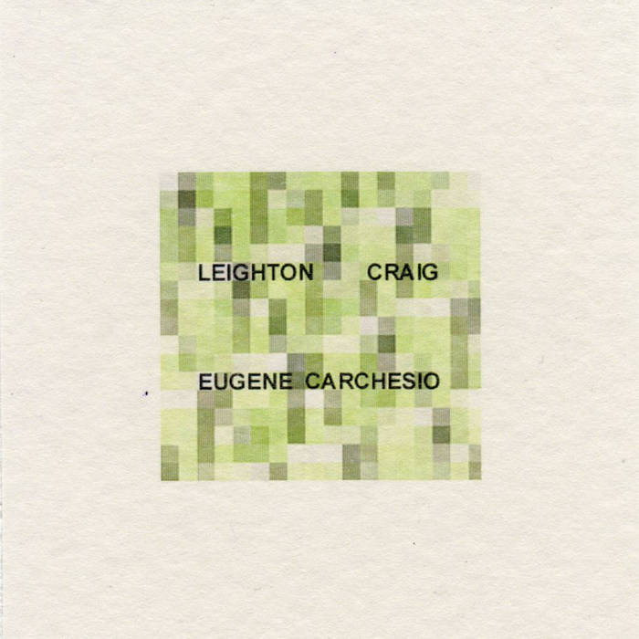 Eugene Carchesio & Leighton Craig cover art
