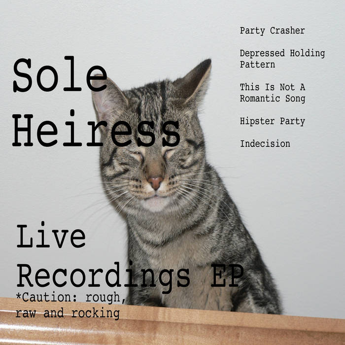 Live Recordings EP cover art