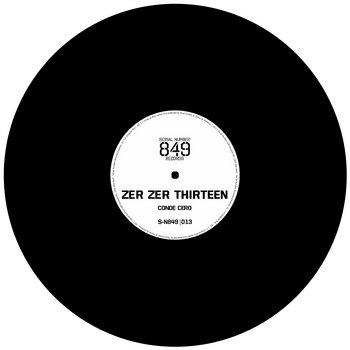 Zer Zer Thirteen cover art