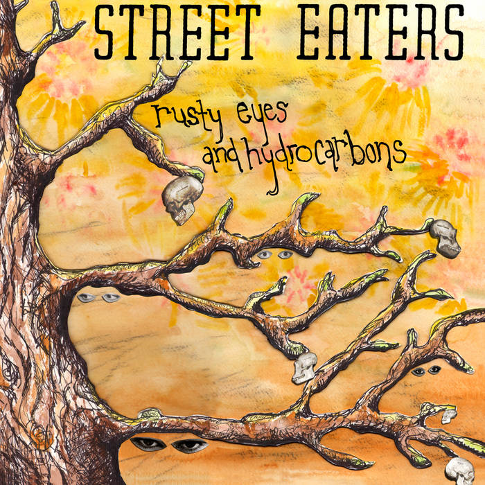 Rusty Eyes and Hydrocarbons cover art