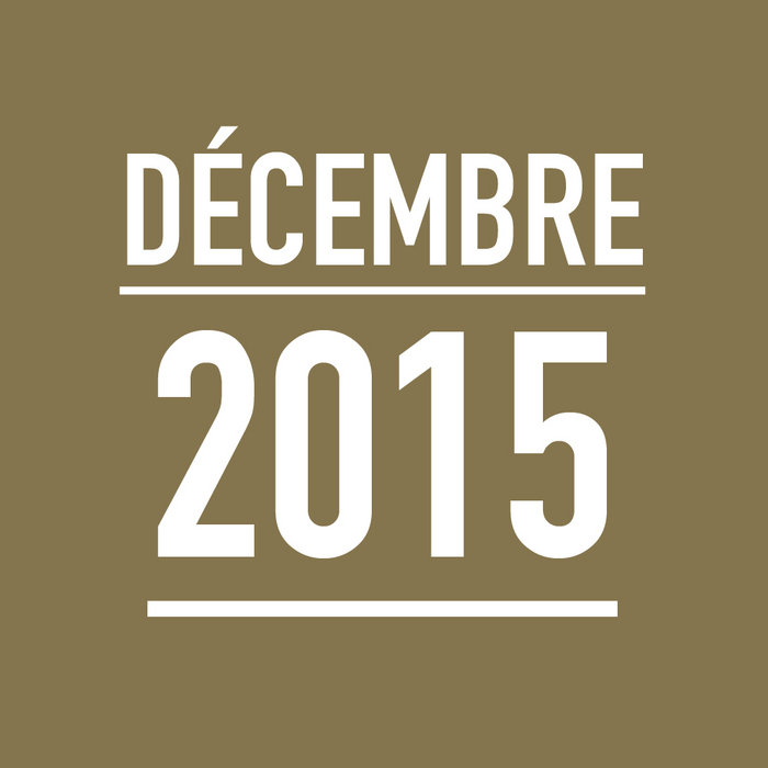 DÉCEMBRE 2015 cover art