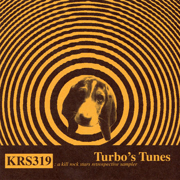 Turbo's Tunes: a kill rock stars retrospective sampler cover art