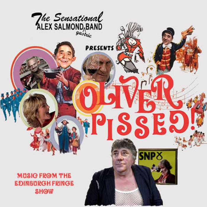 Oliver Pissed cover art
