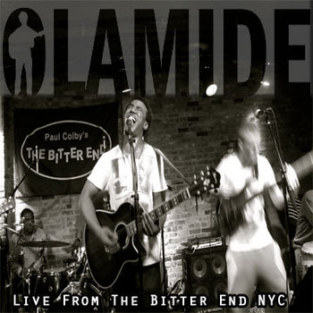 "Olamide ""Live from The Bitter End"" cover art"