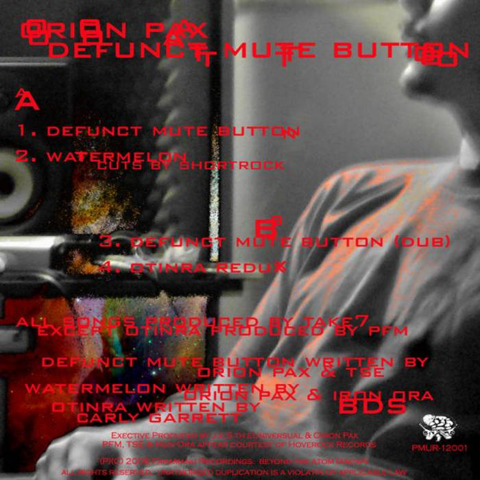 Defunct Mute Button EP cover art